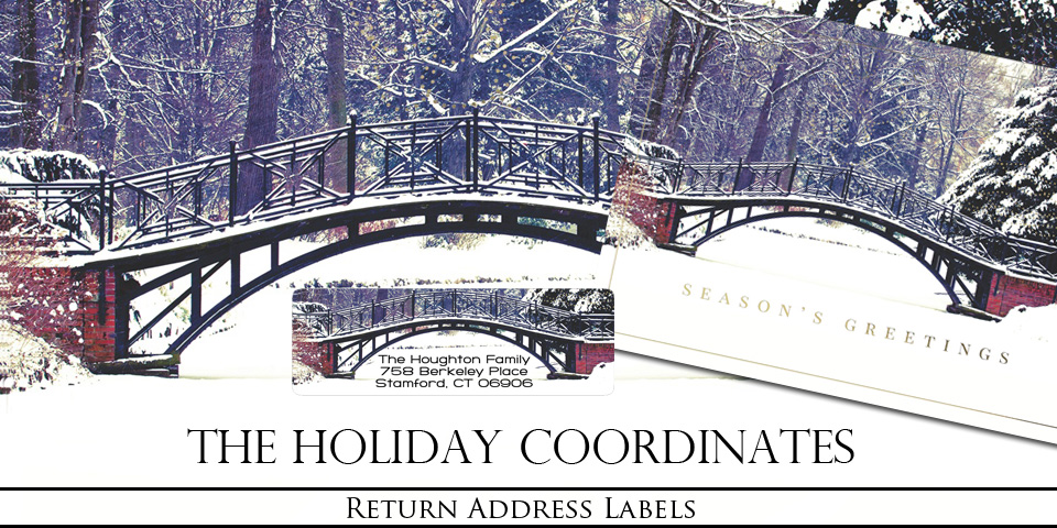Christmas and Holiday Return Address Labels