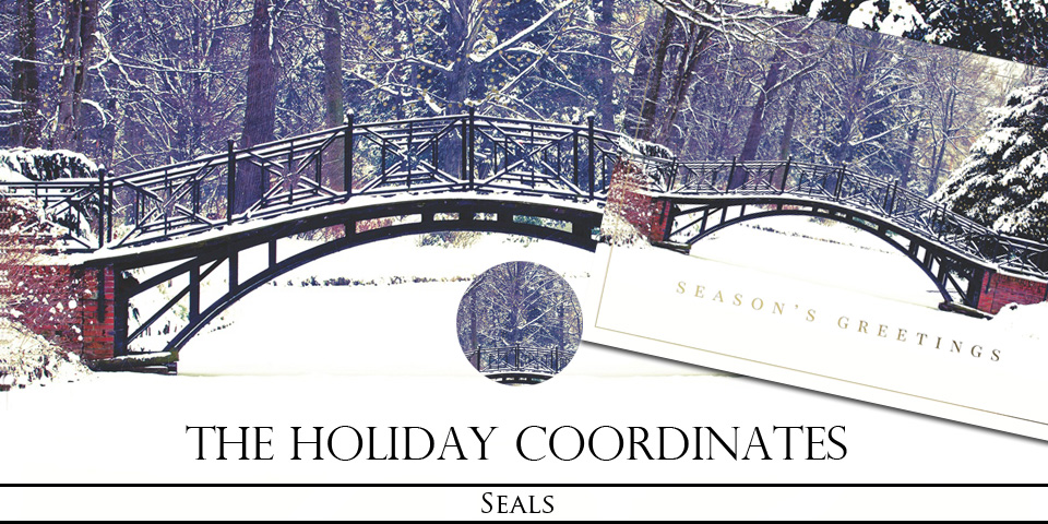 Christmas Holiday Seals and Stamps