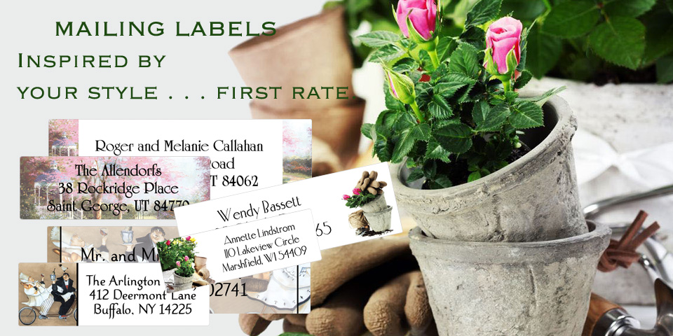 Bachcroft Home and Garden Mailing Labels