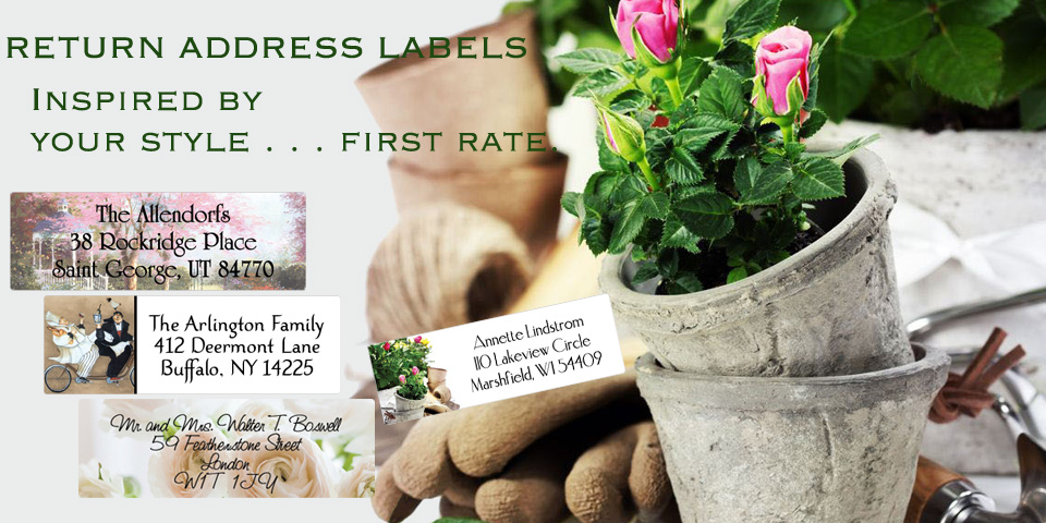 Bachcroft Home and Garden Return Address Labels