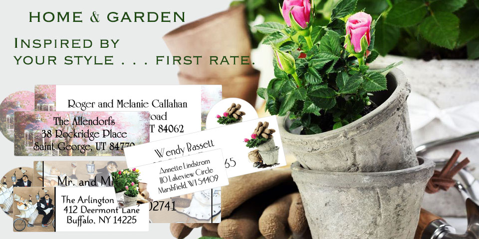 Bachcroft Home and Garden Labels