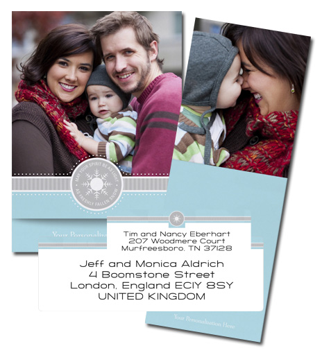 Picture-perfect holiday photo card