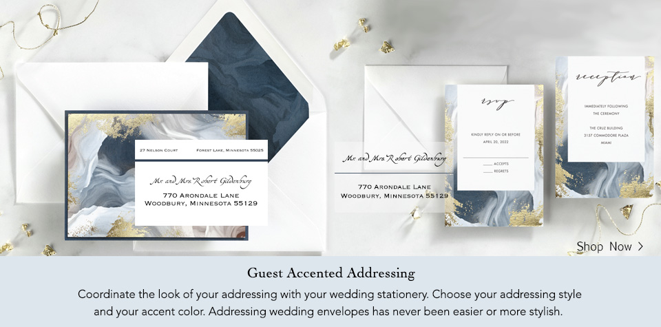 Large Wedding Address Labels.