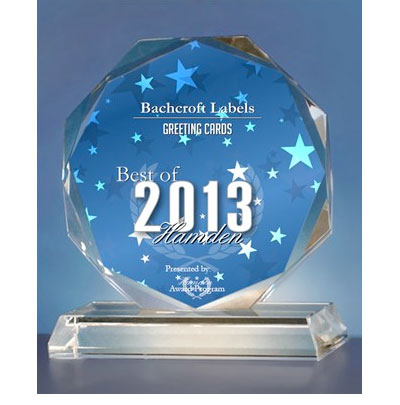 Bachcroft Labels wins 2013 Hamden Award.