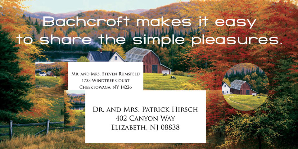 Home and Garden Return Address and Address Labels.