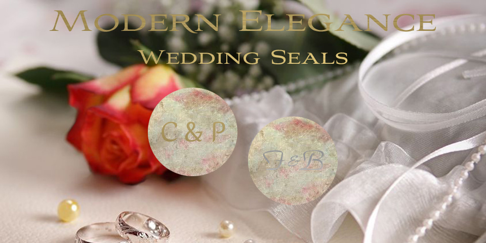 Wedding Seals by Bachcroft Labels